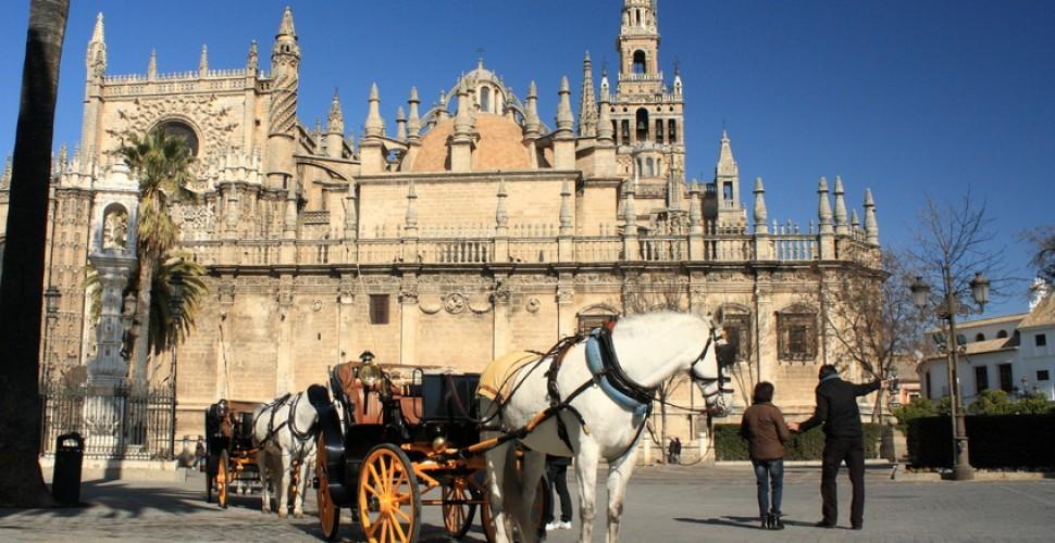 Hoteles 5 estrellas cerca de la catedral de Sevilla